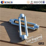Drop Forged Galvanized Standard DIN1480 Turnbuckle