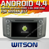 Witson Android 4.4 System Car DVD for Nissan B17 2012-2013 (W2-A7051)