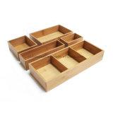 Bamboo Drawer and Bamboo Dishwares Box and Bamboo Collapsible Box