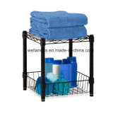 Mini Bathroom Corner Carbon Steel Storage Rack (CJ452543C2E)