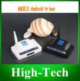 Newest IPTV HD Media Player Mk813s Quad-Core HDMI Internet Android Smart TV Box with DDR3 1GB 8g Flash Bluetooth