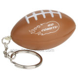 Custom Logo Events Giveawasy PU Stress Reliever Ball Keychain