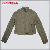 Fashion Women's PU Jacket Coat Simple Clothing