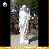 Cheap Price Garden Winged Marble Angel