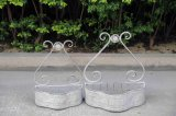 European Style Iron Pretty Wall Shelf