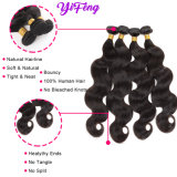 10 Inch -26 Inch Body Wavy Double Weft 100% Human Hair Weaving