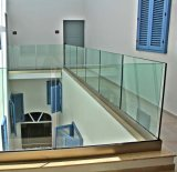 13.52mm Clear Sentryglas Laminated Glass Handrails