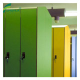 HPL Laminate Key Lock Fitness Locker Cabinet for Sale