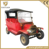 Retro Car Paint 5kw Golf Trolley Model T Car for Scenic Spot