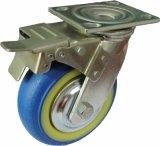 4/5/6/8 Inch Heavy Duty Blue TPR Noiseless Swivel Caster Wheels