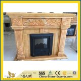 White/Black/Red/Green/Yellow/Purple/Beige/Brown Marble/Stone/Limestone/Travertine/Sandstone/Granite/Onyx/Mantel Fireplace for for Indoor Decoration