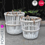 Wrought Iron Storage Baskets for Home Use