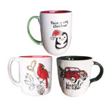 Spot Wholesale Christmas Ceramic Coffee Mugs, Milk Cups, Cheap Holiday Decorations