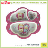 Custom Shaped Non-Toxic Unbreakable Kids Melamine Plate