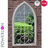 Metal Decorative Wall Garden Mirror