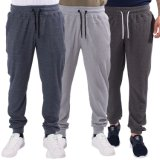 Men Skinny Jogger Pants Slim Fit Cotton Sweat Pants