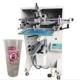 Plastic/Mug Bottles and Paper Cup Automatic Cylindrical Silk Screen Printing Equipment Machine