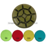 "Concrete Resin Diamond Floor Polishing Pad Grinding Tools 3""/4"" 10mm Thickness"