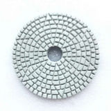 Diamond Flower Type Hook & Loop Backe Wet Polishing Pads