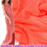 Polyester Colorful Chiffon Fabric for Long Dress Chiffon New Style