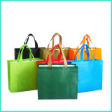 OEM Custom Logo Printing Recyclable PP Non-Woven Non Woven Handbags Foldable Promotion Tote Wine Bag for Shopping