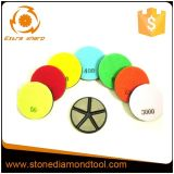 80mm Concrete Floor Polishing Transitional Ceramic Grinding Disc