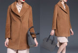 Ladies Winter Ladies Coat with Lapel Collar Fashion Coat