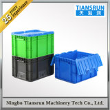 HDPE Durable Plastic Box Storage Bin with Cover