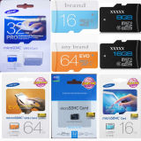 Wholesale 8GB 16GB 32GB 64GB 128GB 256GB Class 4 Class6 Class10 U1 Micro SD Card TF CF Card Evo Plus U1 Memory Card SD Cards for Music Video