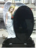Granite Stone Black Red White Grey Monument Tombstone Headstone Memorial Weeping Angle