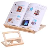 Adjustable Wooden Book Reading Stand Holder
