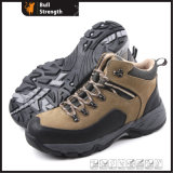 Industry Leather Safety Shoes with Cement Rubber Sole (SN5163)