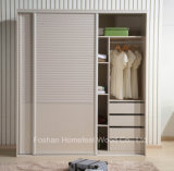 Customized Wooden Bedroom Sliding Door Wardrobe (HF-IK210B)