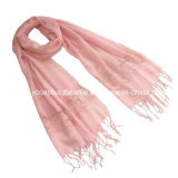 New Fashion 100% Linen Lace Scarf