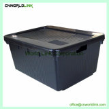 80L Heavy Duty Storage Removed Lid Moving Stacking Big Logistic Tote