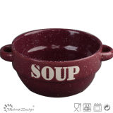 2016 20cm Jumbo Ceramic Bowl with Two Handles