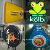 Free Option Blister Plastic Store Signboard LED