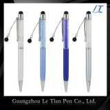 Simple Design Promotion Gift Ballpoint Pen with Crystals