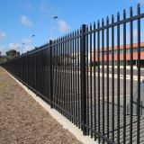 Ornamental Iron Steel Picket Security Fence