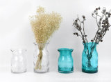 Nordic Style Shaped Glass Vase Flower Glassware Arts and Crafts of Home Desktop Decor