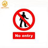 Custom No Entry Traffic Safety Plastic/Aluminum Warning Signs