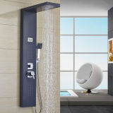 Customized Blue Stainless Steel Digital Screen Shower Panel Tower System