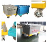 Easy Moving Steel Logistics Trolley Carts