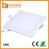 Recessed 18W Slim Square Home LED Panel Ceiling Light