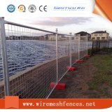 Australia 2.1X2.4m Cheap Galvanized Metal Temporary Safety Fencing