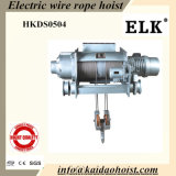 5ton Wire Rope Hoist with Double Rails Trolley (HKDD0504)