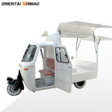 Made in China OEM Fast Food Van Cheap Tricycle Food Truck Food Cart for Sale