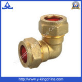 Forged Male Brass Elbow with Compression End (YD-6040)