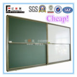 Sliding Green School Writing Board for University & High School Classroom