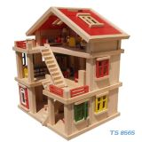 Classical Large Wooden Doll House